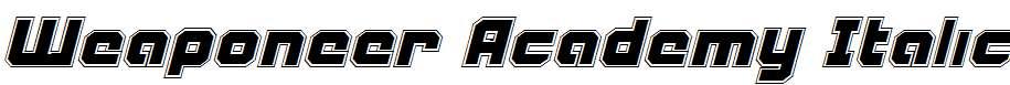 Weaponeer-Academy-Italic