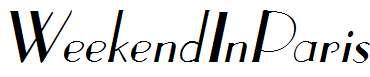 WeekendInParis-Italic