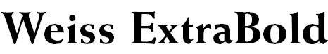 Weiss-ExtraBold
