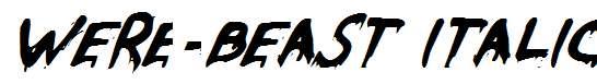 Were-Beast-Italic