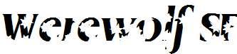Werewolf-SF-Bold-Italic