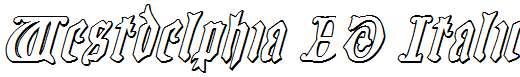 Westdelphia-3D-Italic