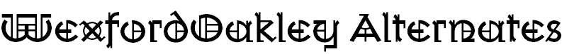 WexfordOakley-Alternates