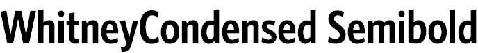 WhitneyCondensed-Semibold