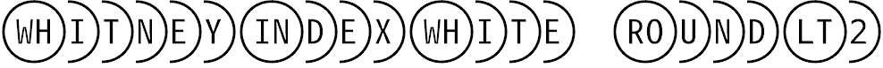WhitneyIndexWhite-RoundLt2