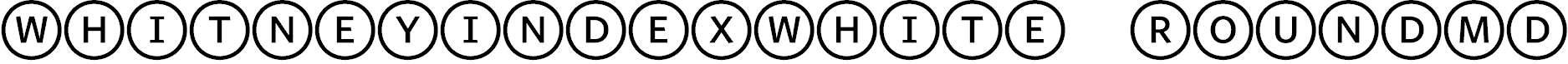 WhitneyIndexWhite-RoundMd