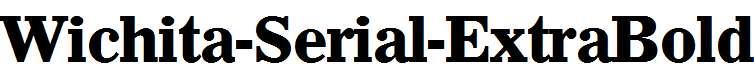 Wichita-Serial-ExtraBold-Regular