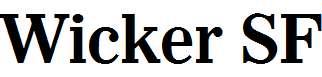 Wicker-SF-Bold