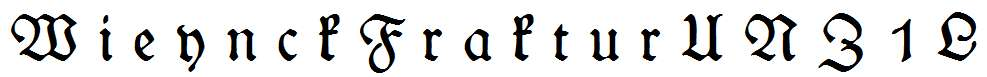 WieynckFrakturUNZ1L-Italic