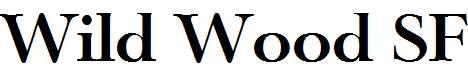 Wild-Wood-SF-Bold