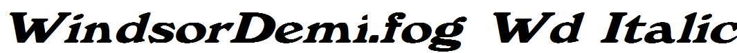 WindsorDemi.fog-Wd-Italic