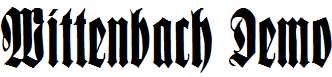 Wittenbach-Demo