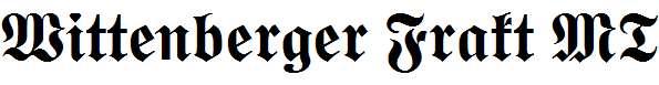 Wittenberger-Frakt-MT-Bold