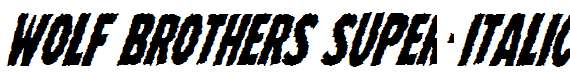 Wolf-Brothers-Super-Italic
