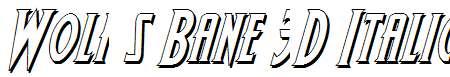 Wolf-s-Bane-3D-Italic