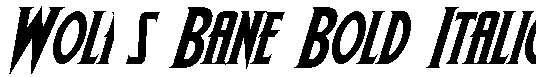 Wolf-s-Bane-Bold-Italic
