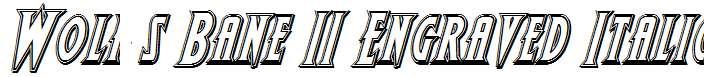 Wolf-s-Bane-II-Engraved-Italic