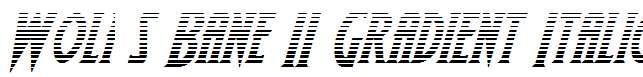 Wolf-s-Bane-II-Gradient-Italic