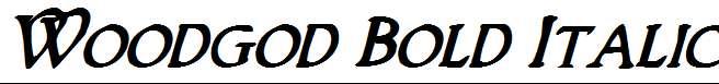 Woodgod-Bold-Italic