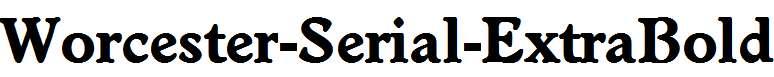 Worcester-Serial-ExtraBold-Regular