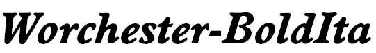 Worchester-BoldIta