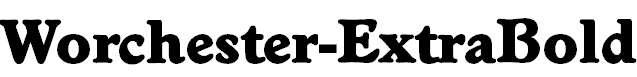 Worchester-ExtraBold