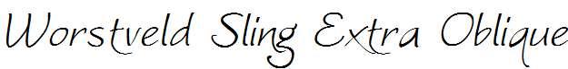 Worstveld-Sling-Extra-Oblique