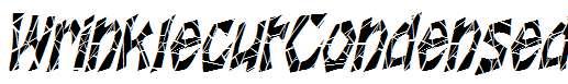 WrinklecutCondensed-Oblique