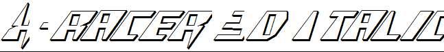 X-Racer-3D-Italic