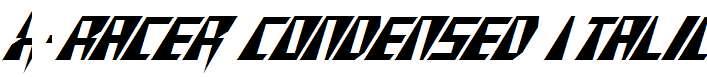 X-Racer-Condensed-Italic