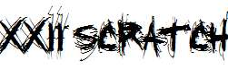 XXII-SCRATCH