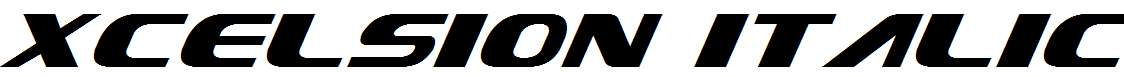 Xcelsion-Italic