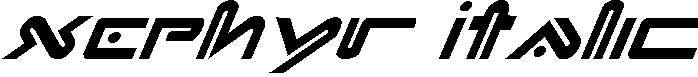 Xephyr-Italic