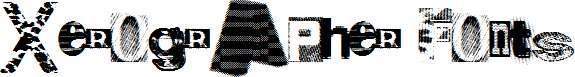 Xerographer-Fonts
