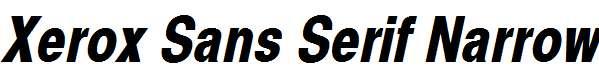 Xerox-Sans-Serif-Narrow-Bold-Oblique