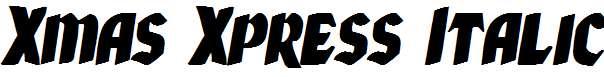 Xmas-Xpress-Italic