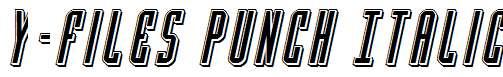 Y-Files-Punch-Italic