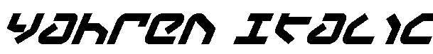 Yahren-Italic