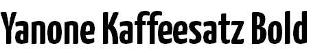 Yanone-Kaffeesatz-Bold
