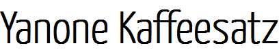 Yanone-Kaffeesatz-ExtraLight