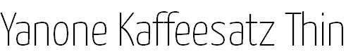 Yanone-Kaffeesatz-Thin