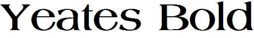 Yeates-Bold