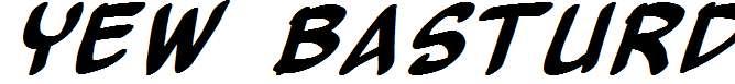 Yew-Basturd-Italic