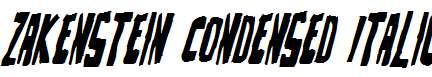 Zakenstein-Condensed-Italic