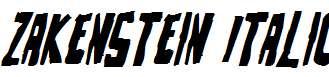 Zakenstein-Italic