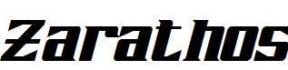 Zarathos-Italic