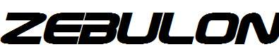 Zebulon-Bold-Italic