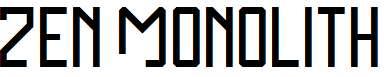 Zen-Monolith-Regular
