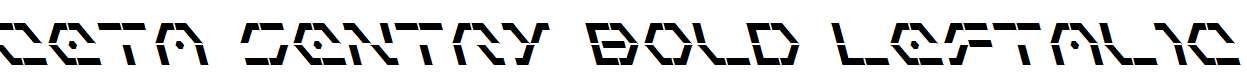 Zeta-Sentry-Bold-Leftalic