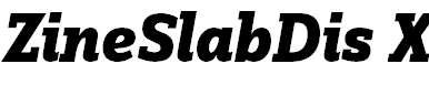 ZineSlabDis-XBoldItalic